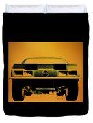1968 Camaro Ss  Full Rear Duvet Cover