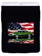 1968 Camaro Tribute Duvet Cover