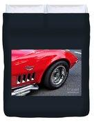1968 Chevrolet Corvette Stingray Duvet Cover