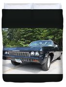 1968 Chevrolet Impala Sedan Duvet Cover by John Telfer
