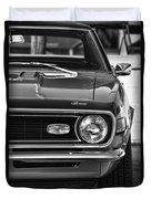 1968 Chevy Camaro Ss 350 Duvet Cover