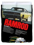 1968 Dodge Charger R/t - Ramrod Duvet Cover