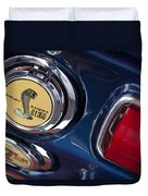 1968 Ford Mustang - Shelby Cobra Gt 350 Taillight And Gas Cap Duvet Cover