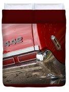 1968 Oldsmobile 442 Duvet Cover