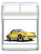 1968 Porsche Targa Duvet Cover