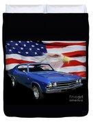 1969 Chevelle Tribute Duvet Cover