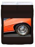 1969 Chevrolet Camaro Rs - Front Quarter Panel - 7552 Duvet Cover