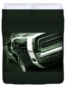 1969 Dodge Charger 500 Duvet Cover