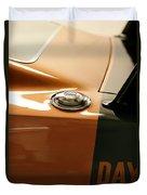 1969 Dodge Charger Daytona - Fuel Day Duvet Cover