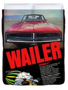 1969 Dodge Charger R/t Duvet Cover