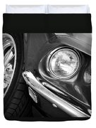 1969 Ford Mustang Mach 1 Front End Duvet Cover by Jill Reger