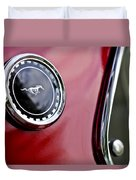 1969 Ford Mustang Mach 1 Duvet Cover