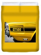 1969 Ford Shelby Mustang Gt500 Duvet Cover