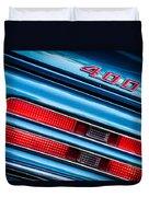 1969 Pontiac 400 Firebird Convertible Taillight Emblem -0029c Duvet Cover