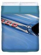 1969 Pontiac Firebird 400 Hood Duvet Cover