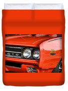 1969 Pontiac Gto The Judge Duvet Cover