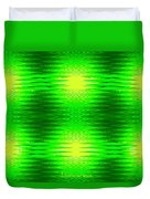 197 - Deco Green 2 Duvet Cover