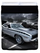 1970 Aar Barracuda Duvet Cover