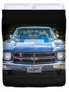 1970 Chevy Chevelle 454 Ss   Duvet Cover