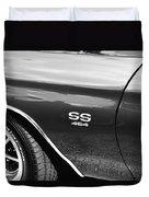 1970 Chevy Chevelle 454 Ss Bw  Duvet Cover