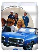 1970 Dodge Coronet 500 Duvet Cover