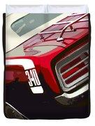 1970 Plymouth Barracuda 'cuda 340 Duvet Cover