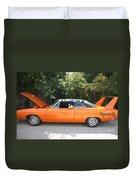1970 Plymouth Dodge Superbird Duvet Cover
