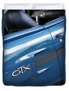 1970 Plymouth Gtx 440 Duvet Cover