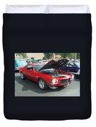 1971 Chevrolet Camaro Duvet Cover