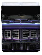 1971 Plymouth 'cuda 440 Duvet Cover by Gordon Dean II