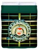 1973 Ford Ranchero Grille Emblem -0769c Duvet Cover