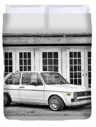 1979 Vw Rabbit IIi Duvet Cover