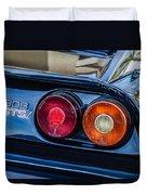 1980 Ferrari 308 Gtsi Taillight Emblem -0027c Duvet Cover