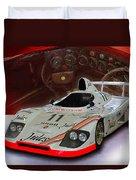 1981 Porsche 936/81 Spyder Duvet Cover