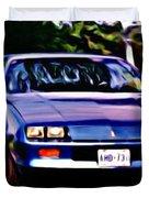 1985 Chev Camero Duvet Cover