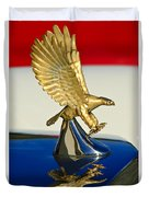 1986 Zimmer Golden Spirit Hood Ornament Duvet Cover