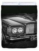 1990 Bentley Turbo R Bw Duvet Cover