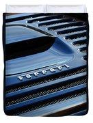 1997 Ferrari F 355 Spider Rear Emblem -153c Duvet Cover