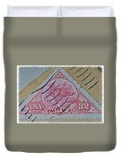 1997 Pacific Stagecoach Stamp Duvet Cover