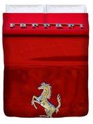 1999 Ferrari 550 Maranello Emblem -651c Duvet Cover