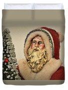19th Century Santa Claus Duvet Cover