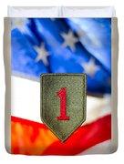 1st Infantry Division Duvet Cover