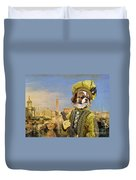 Tibetan Spaniel Art Canvas Print Duvet Cover