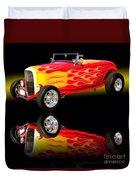 1932 Ford V8 Hotrod Duvet Cover