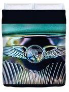 1933 Pontiac Emblem Duvet Cover