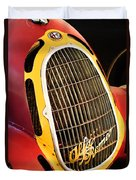 1935 Alfa Romeo 8c-35 Grille Emblem -0006c Duvet Cover