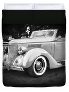 1936 Ford Cabriolet Bw  Duvet Cover
