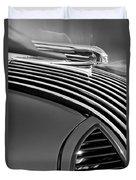 1936 Pontiac Hood Ornament Duvet Cover