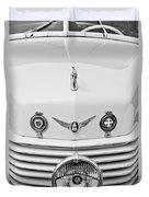 1937 Cord 812 Sc Convertible Phaeton Sedan Grille Emblems Duvet Cover
