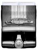1950 Pontiac Grille Emblem Duvet Cover
